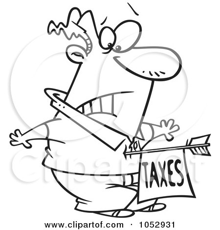 Royalty-Free (RF) Tax Hit Clipart, Illustrations, Vector ...