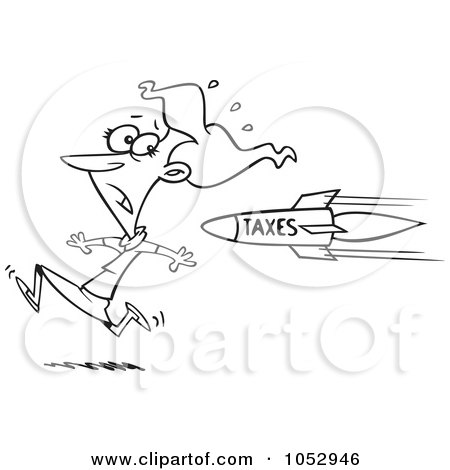 Royalty Free Stock Illustrations of Taxes by toonaday Page 1