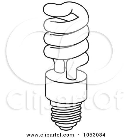 Royalty Free Vector Clip Art Illustration Of Light Bulbs