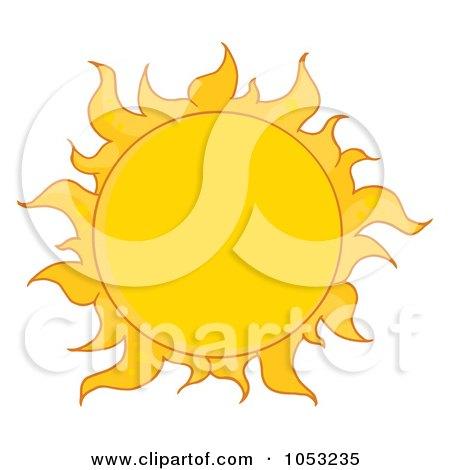 Royalty-Free Vector Clip Art Illustration of a Full Summer ...