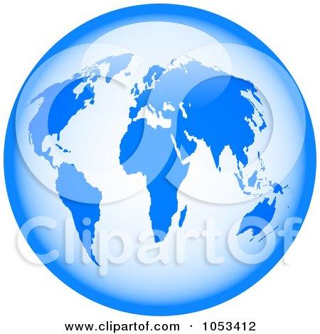 Baby Picture Generator Free on Royalty Free Clip Art Illustration Of A Shiny Blue World Globe By