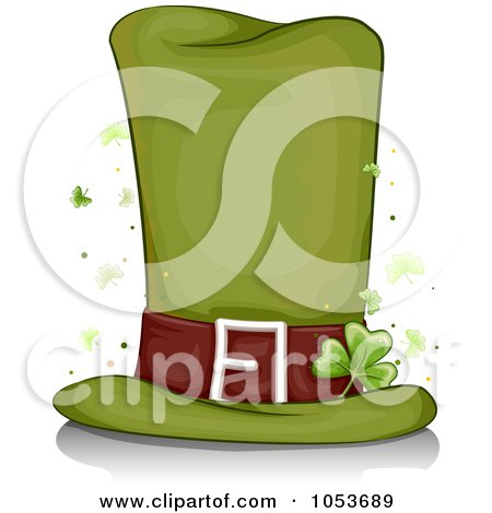 Royalty-Free (RF) Clipart of Leprechaun Hats ...