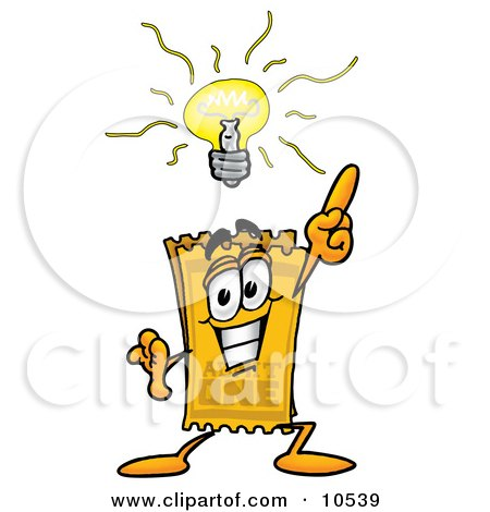 lighted magnifying glass royalty free rf bright idea clipart illustrations 10539