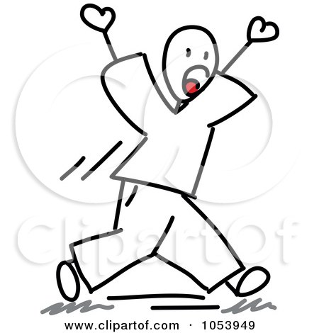 yelling stick figure clipart Screaming Banshee Screaming Monster