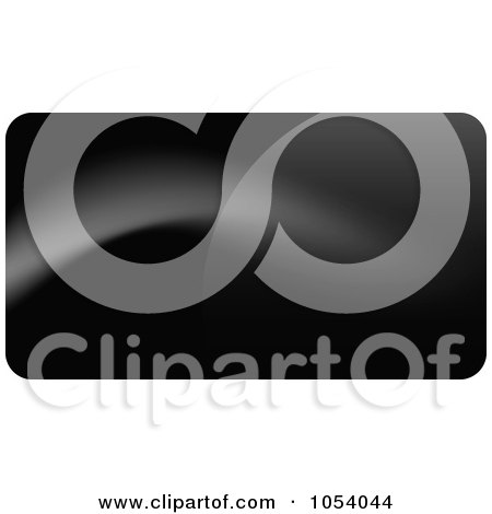 Royalty-Free Vector Clip Art Illustration of an Abstract Black Business Card Or Background Design - 4 by vectorace
