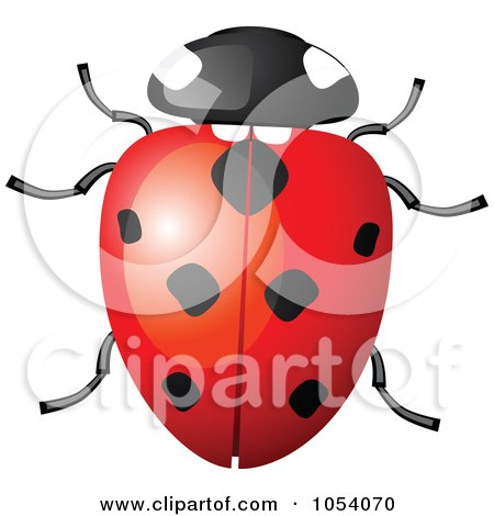 Royalty-Free Vector Clip Art Illustration of a Ladybug by vectorace