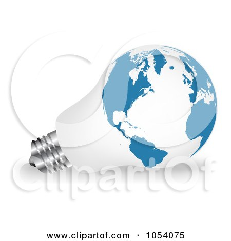 Vector  Free on Royalty Free Vector Clip Art Illustration Of A 3d White And Blue Light