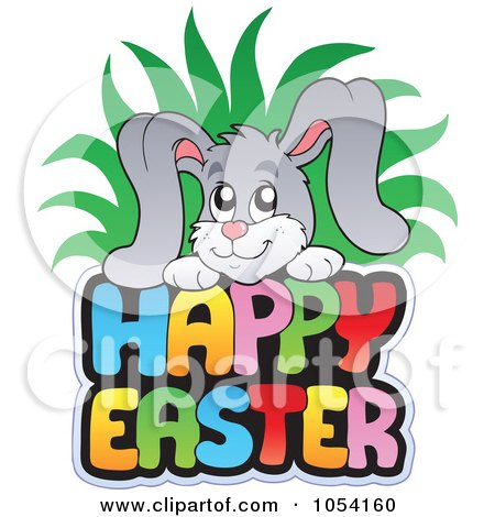 Royalty-Free Vector Clip Art Illustration of Colorful ... Easter Clip Art Free Small