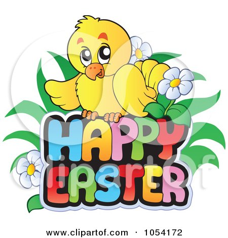 Royalty-Free (RF) Happy Easter Greeting Clipart ... Easter Clip Art Free Small