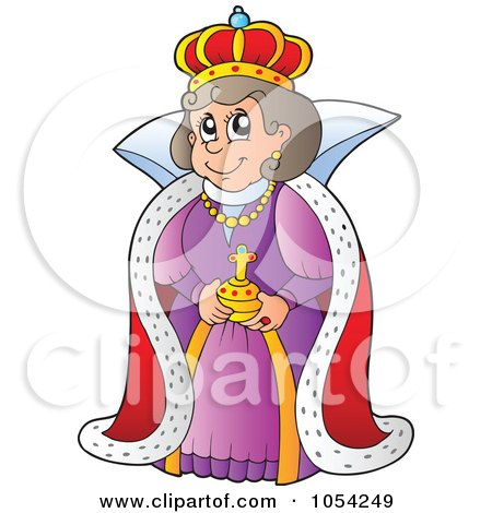 cartoon of a medieval queen on a fortress royalty free clip art queen of the south clip art queen of hearts