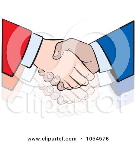 Business Handshake - 4 Posters, Art Prints