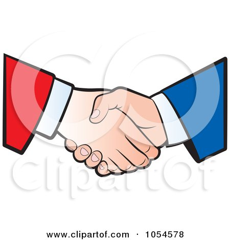 Business Handshake - 1 Posters, Art Prints