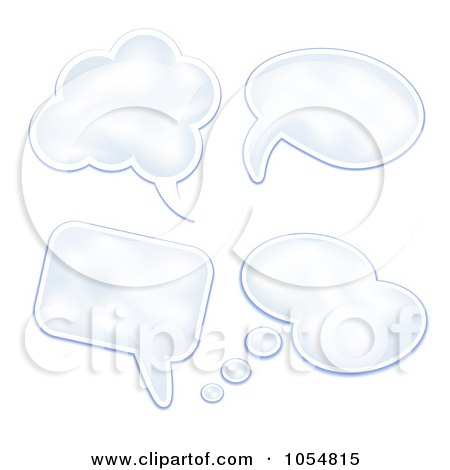 Thought Cloud Clip Art