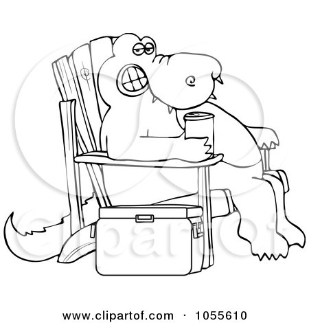 Royalty-Free (RF) Adirondack Chair Clipart, Illustrations, Vector ...
