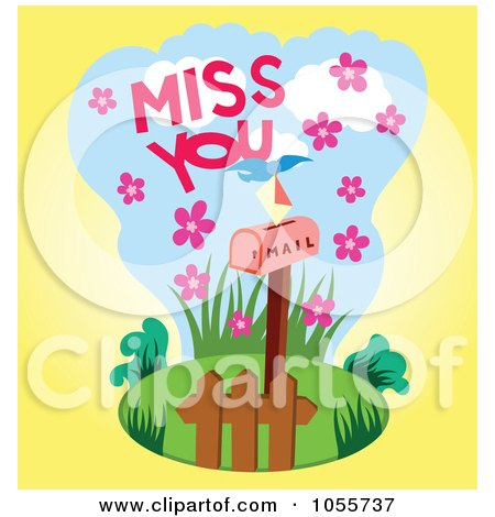 Clip Art Miss You Clip Art royalty free rf miss you clipart illustrations vector graphics 1 preview clipart
