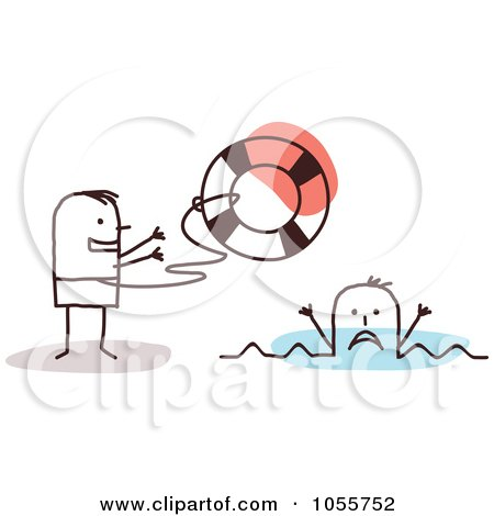 Royalty-Free (RF) Drowning Clipart, Illustrations, Vector Graphics #1