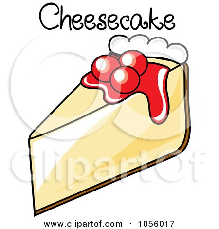 Cheesecake Images Clip Art : Clipart Serving Of Cheesecake - Royalty Free Vector ...