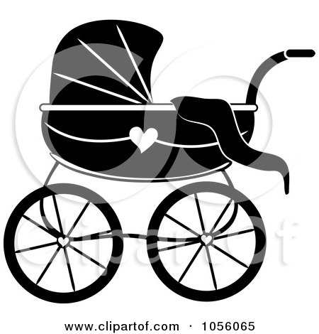 Baby Pram With Love Hearts Family Day, Icon In Outline Style.. Royalty Free  Cliparts, Vectors, And Stock Illustration. Image 148787952.