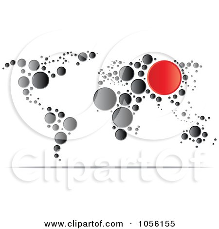 Royalty-Free (RF) World Map Clipart, Illustrations, Vector Graphics #1