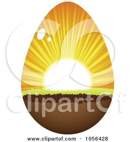 clip art sunrise. Royalty-Free Vector Clip Art