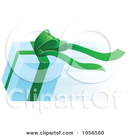 Royalty-Free Vector Clip Art Illustration of a Fast Delivery Gift Box by AtStockIllustration
