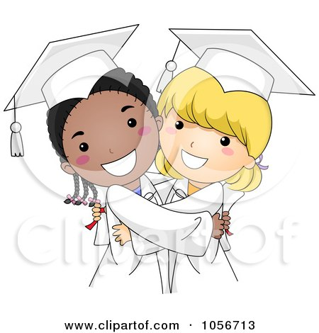 Royalty-Free Vector Clip Art Illustration of a Cute Graduate Boy ...