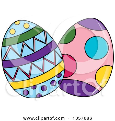 Royalty-Free Vector Clip Art Illustration of a Bunny In A ... Easter Clip Art Free Small
