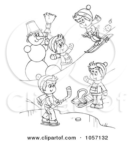 snow white coloring pages for kids. of a Coloring Page Outline