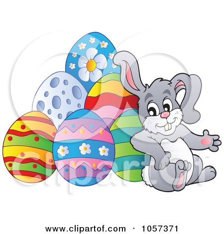 Royalty-Free Vector Clip Art Illustration of an Easter ... Easter Clip Art Free Small
