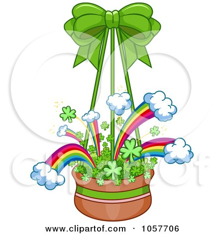 Flower Basket on Royalty Free  Rf  Hanging Flower Pot Clipart  Illustrations  Vector