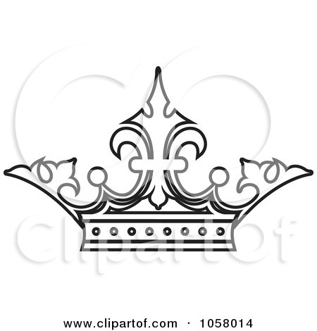Crown Jewels Coloring Page