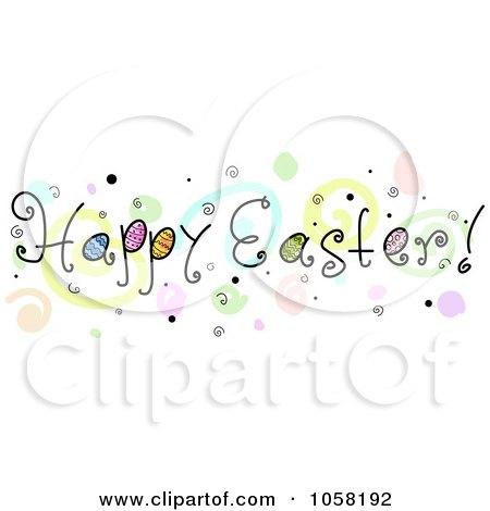 happy spring banner clip art - photo #22