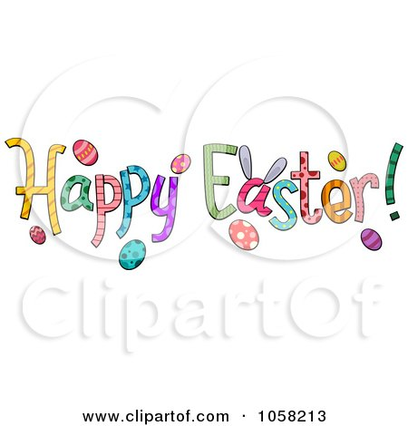 Clipart Happy Easter Egg Holding A Thumb Up - Royalty Free ... Easter Clip Art Free Small