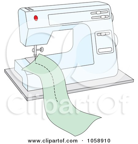 Small Sewing Machines Clip Art