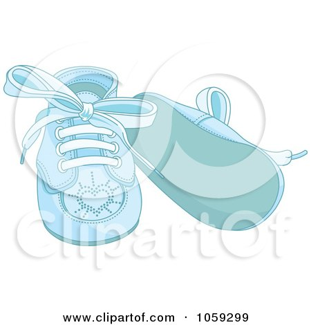 Royalty Free Rf Clipart Illustration Of A Pair Of White