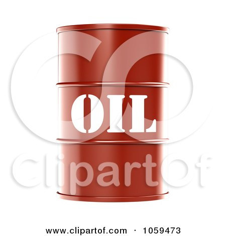 3d Red Barrel Of Gasoline With Oil On The Front - 2 Posters, Art Prints
