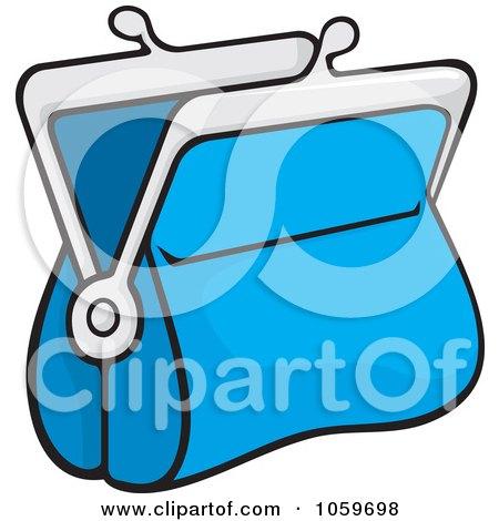 royalty free vector clip art illustration of a digital collage of rh clipartof com Change Purse Ladies Clip Art Empty Wallet Clip Art