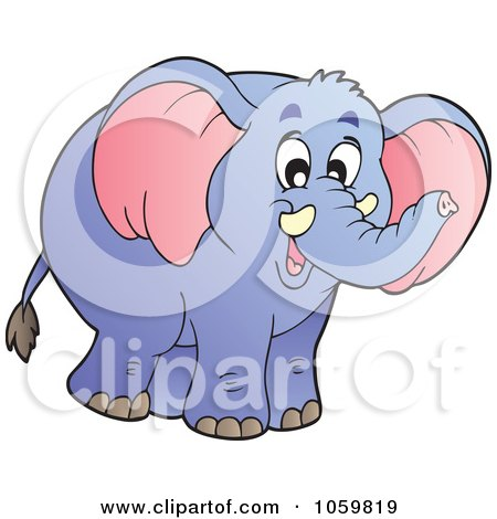 Royalty-Free Vector Clip Art Illustration of a Happy ...