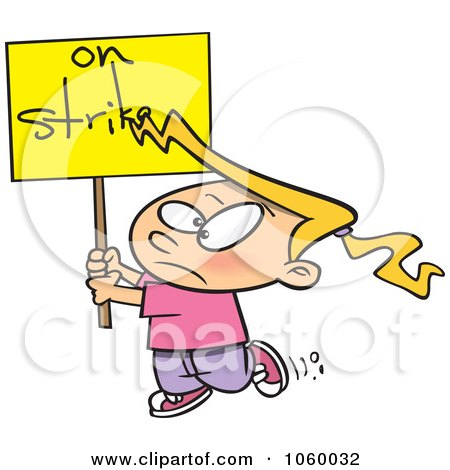 Royalty-Free (RF) On Strike Clipart, Illustrations, Vector ...