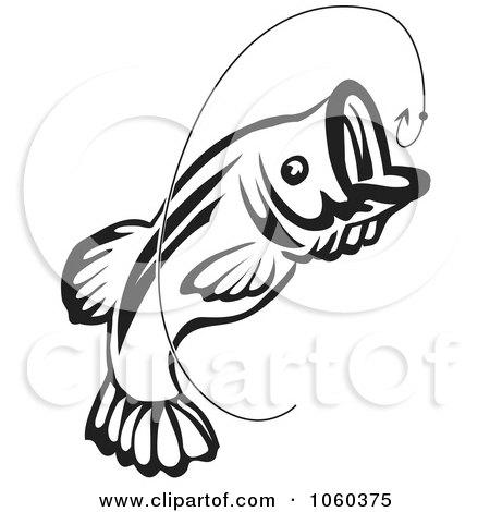 Royalty-Free (RF) Fish Hook Clipart, Illustrations, Vector Graphics #1