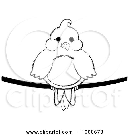 Royalty-Free (RF) Bird On A Wire Clipart, Illustrations, Vector ...
