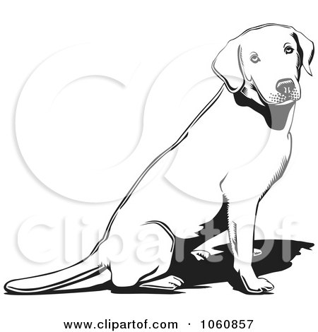 Royalty-Free Vector Clip Art Illustration of an Outlined Lab ...