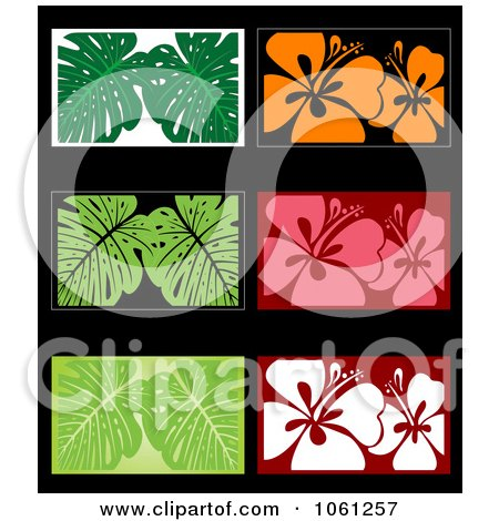 Royalty-Free Vector Clip Art Illustration of a Digital Collage Of Business Card Or Background Designs - 8 by Vector Tradition SM