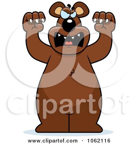 Big Bear Roaring Posters, Art Prints