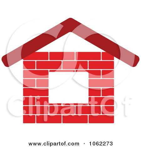 Clipart Of A Cartoon Mason Brick Character Holding Trowel