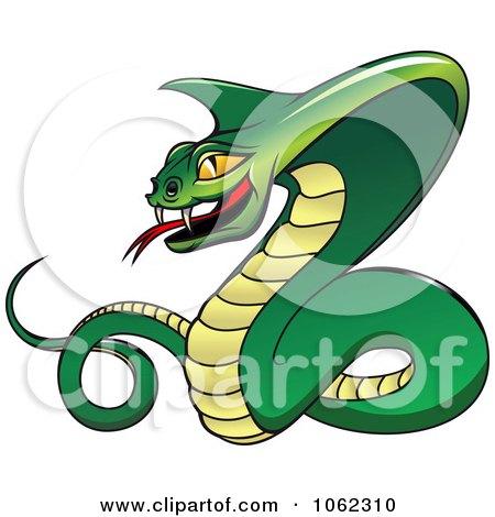 Векторный клипарт змея коллекции