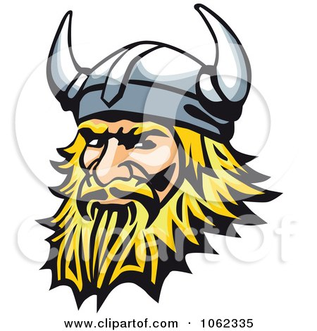 Clipart Viking Man - Royalty Free Vector Illustration by Vector Tradition SM