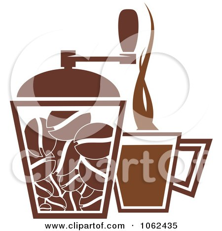 Clipart Coffee Logo 1 - Royalty Free Vector Illustration by Vector Tradition SM