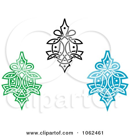 Clipart Greek Design Elements Digital Collage 1 - Royalty Free Vector Illustration by Vector Tradition SM