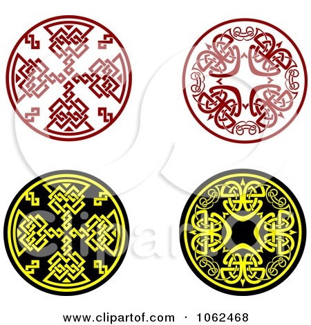 Clipart Greek Design Elements Digital Collage 4 - Royalty Free Vector Illustration by Vector Tradition SM